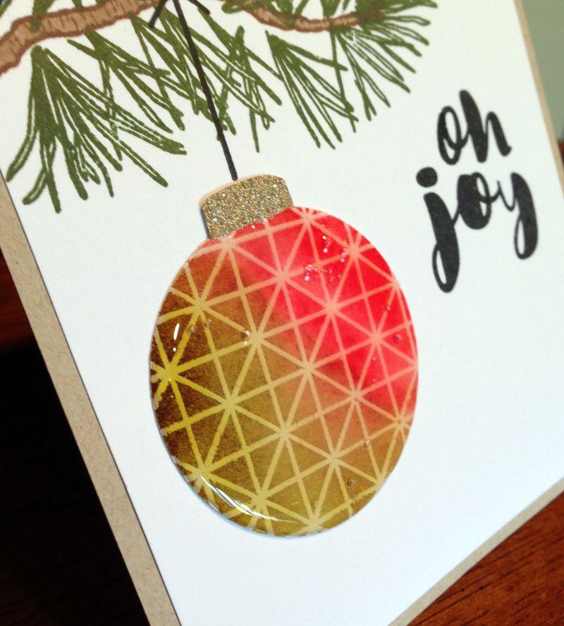 Joy Recipe Card #3 close up