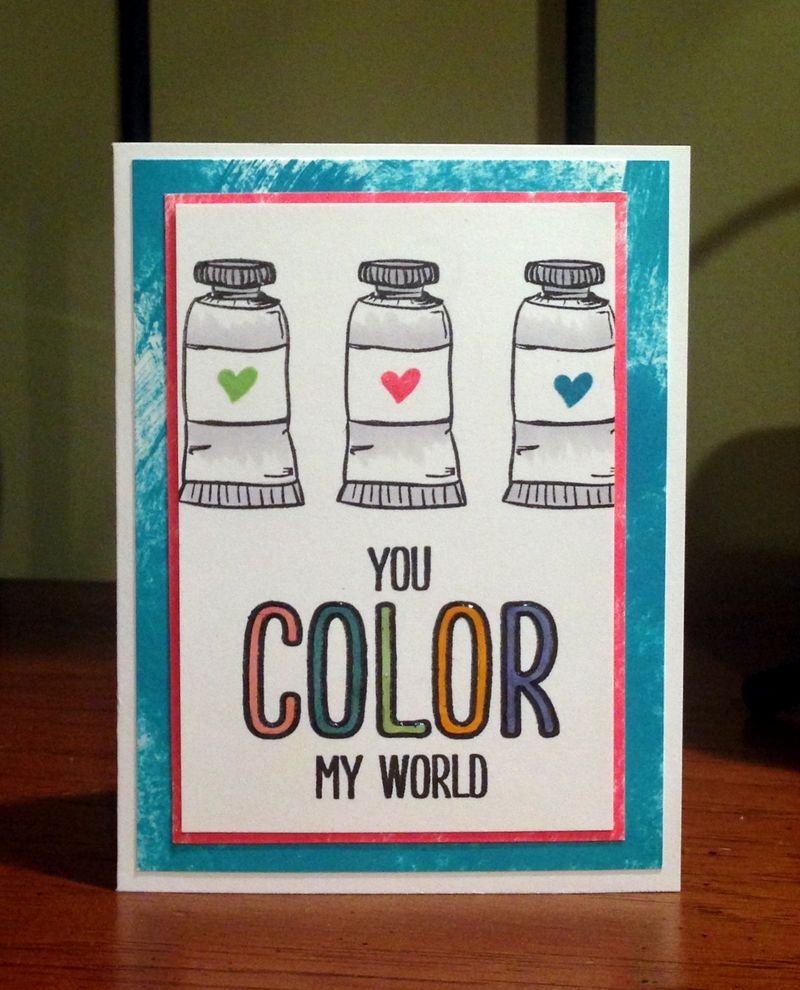 Color my world card