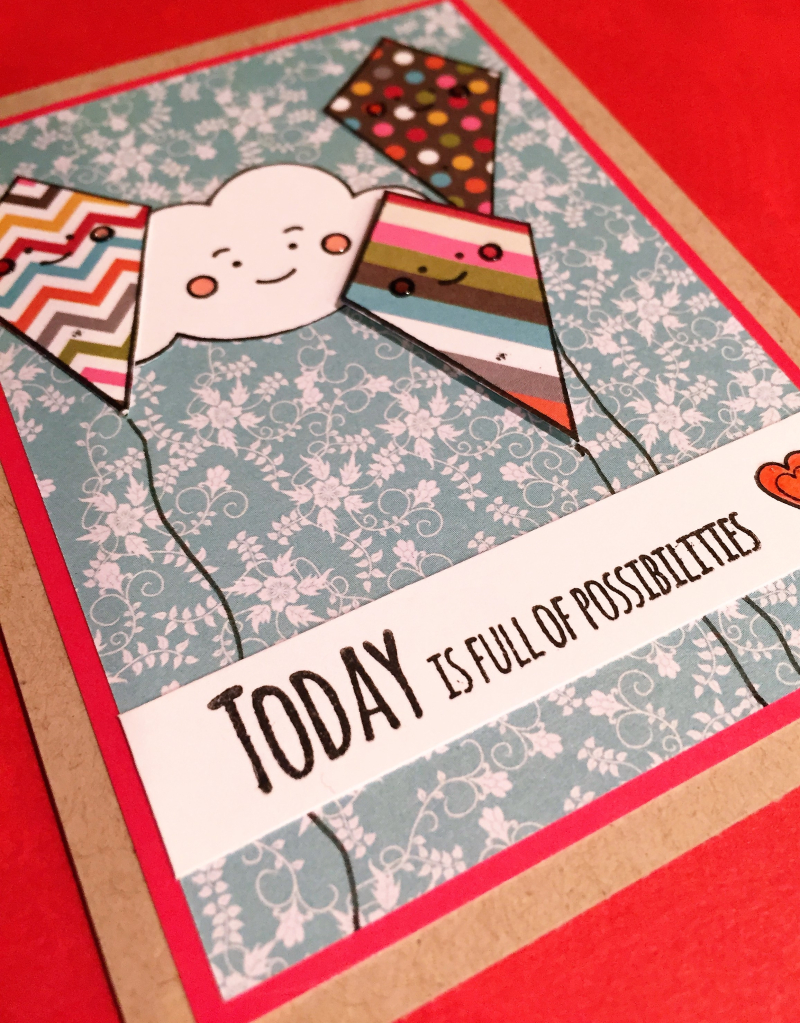 Possibilities card close up