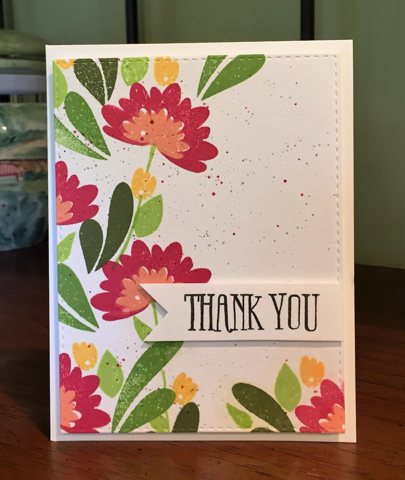 Wplus9 thanks card