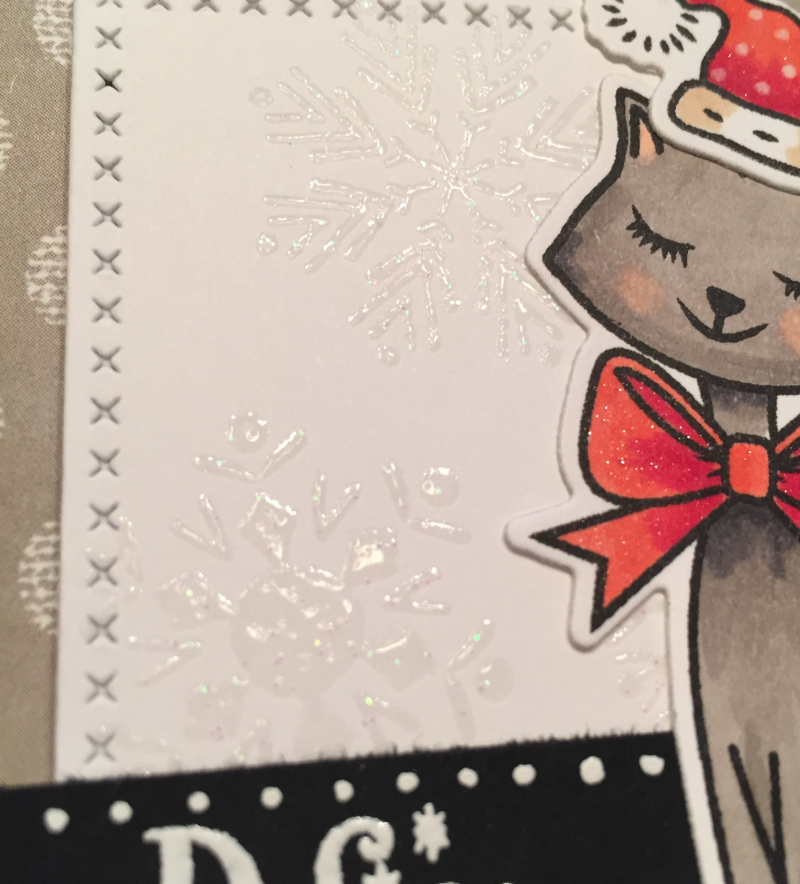 Define Naughty card close up
