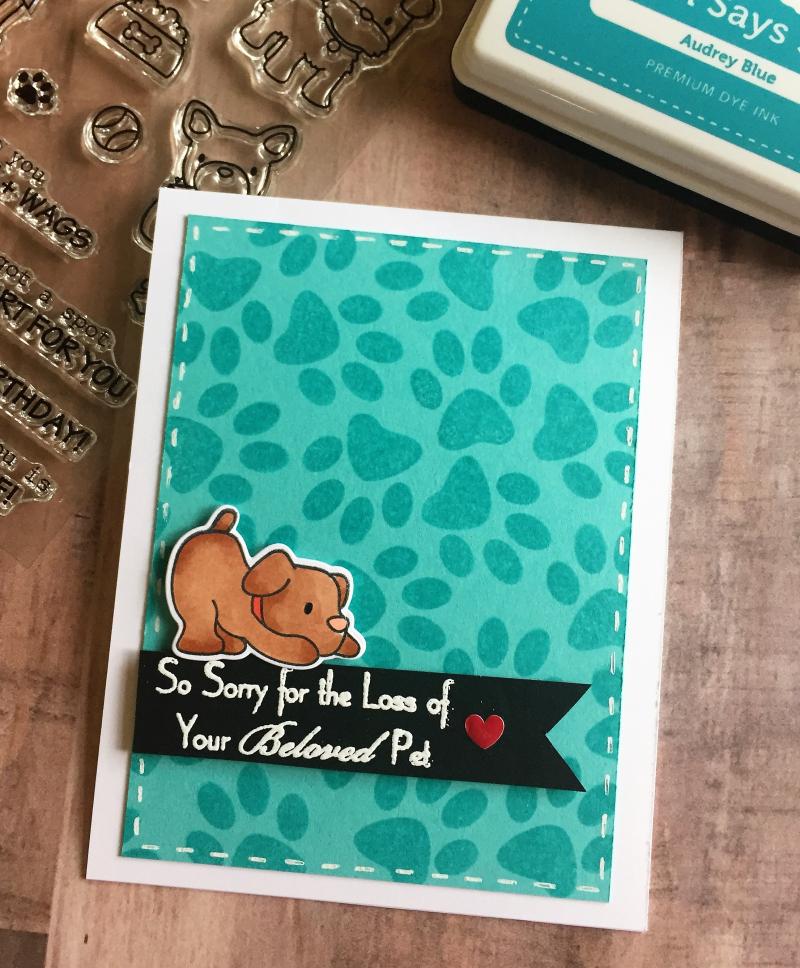 Lisa R pet sympathy card