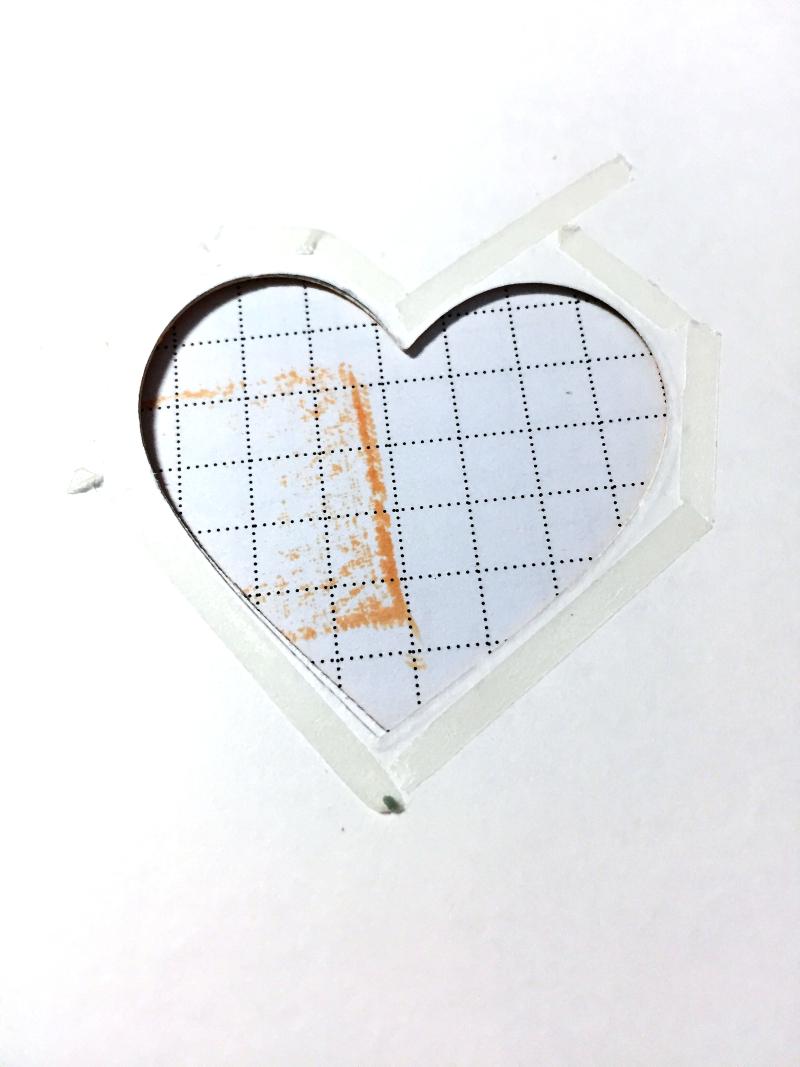 Wonky hearts in progress