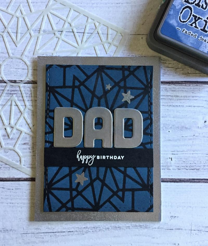 Dad birthday card 2017