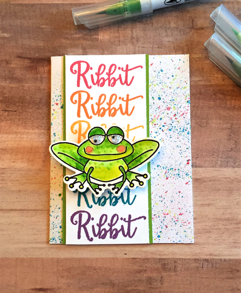 TT frog card B 1