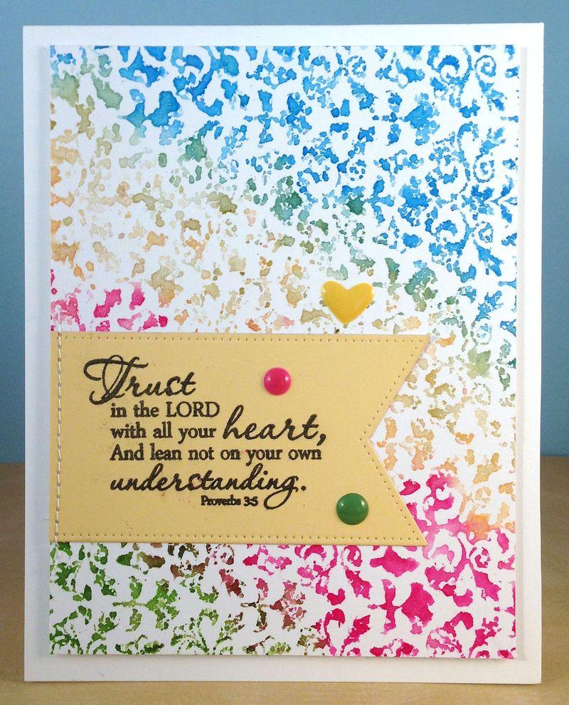 Hannah sympathy card