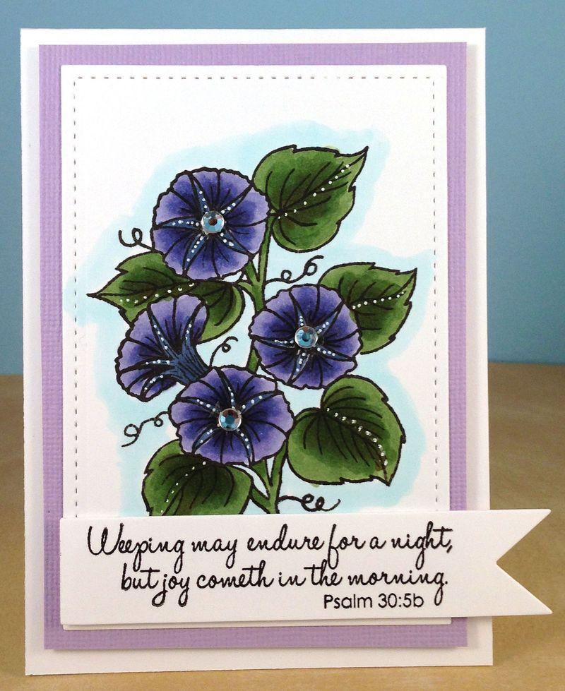 Kim M sympathy card