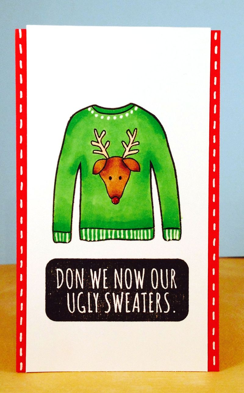 Sweater card 2