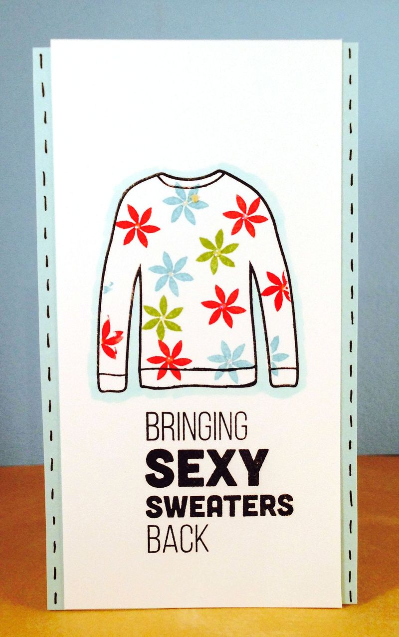 Sweater card 3