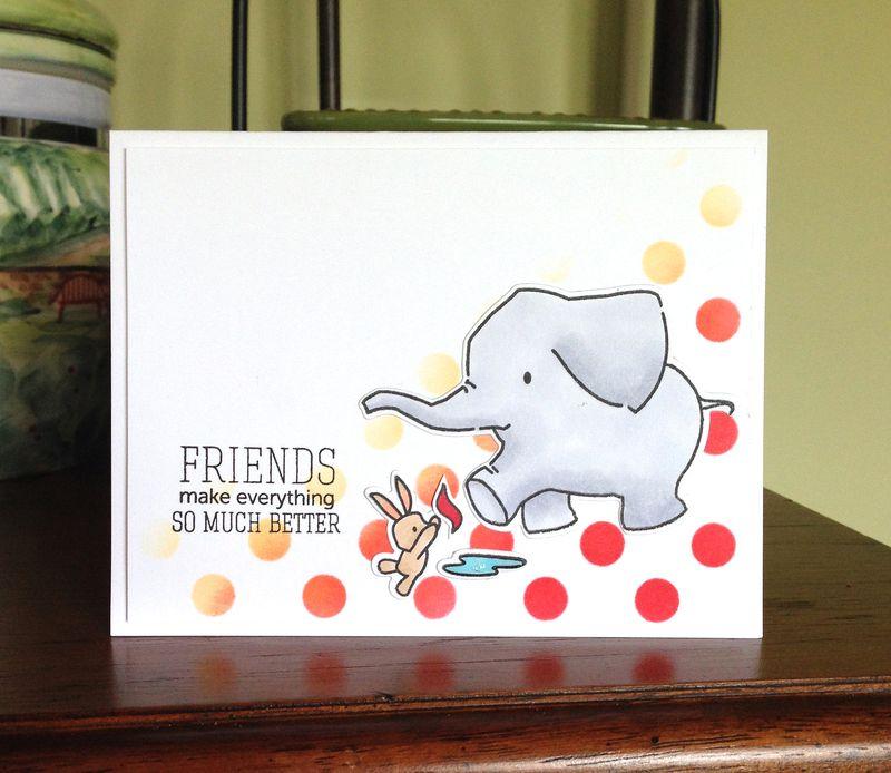 Elephant DI dots