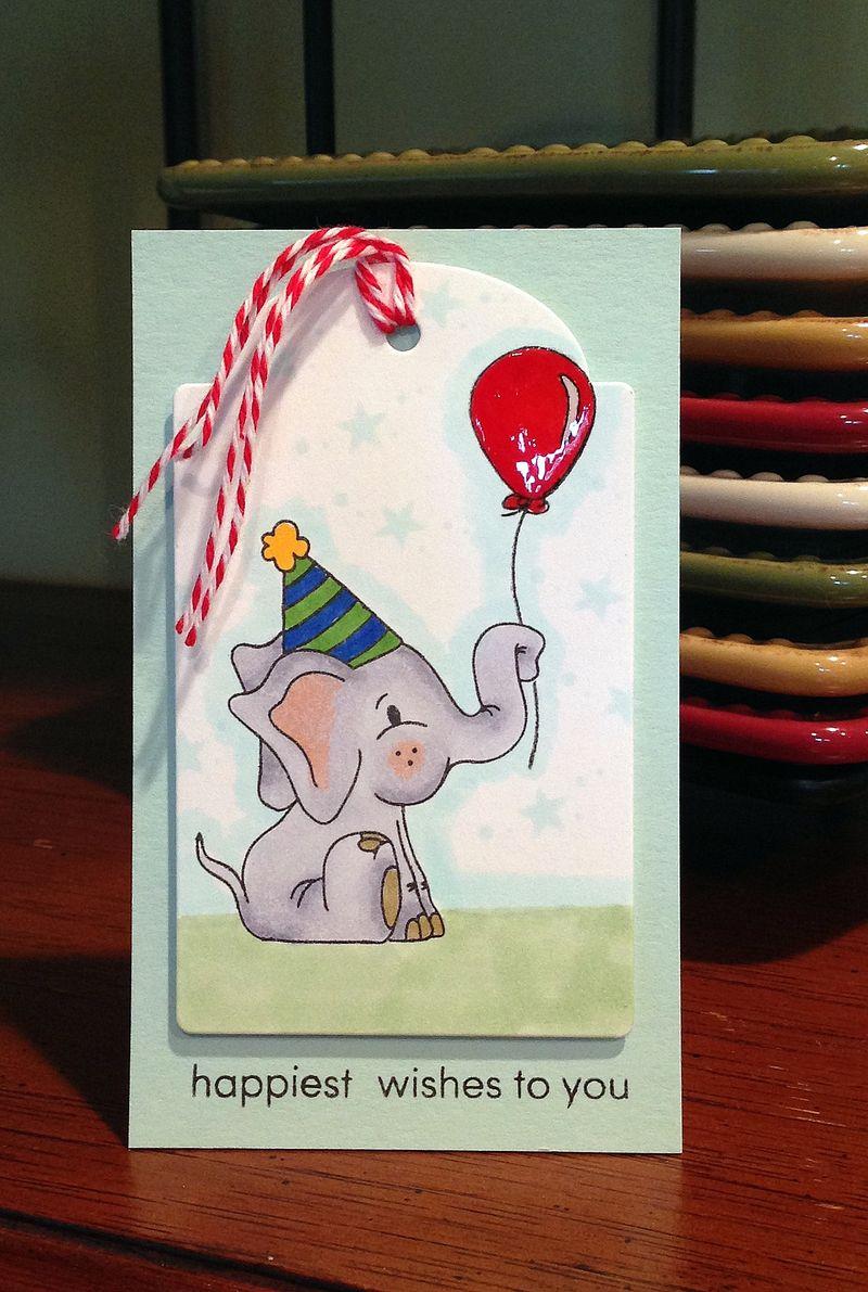 Simon birthday set card