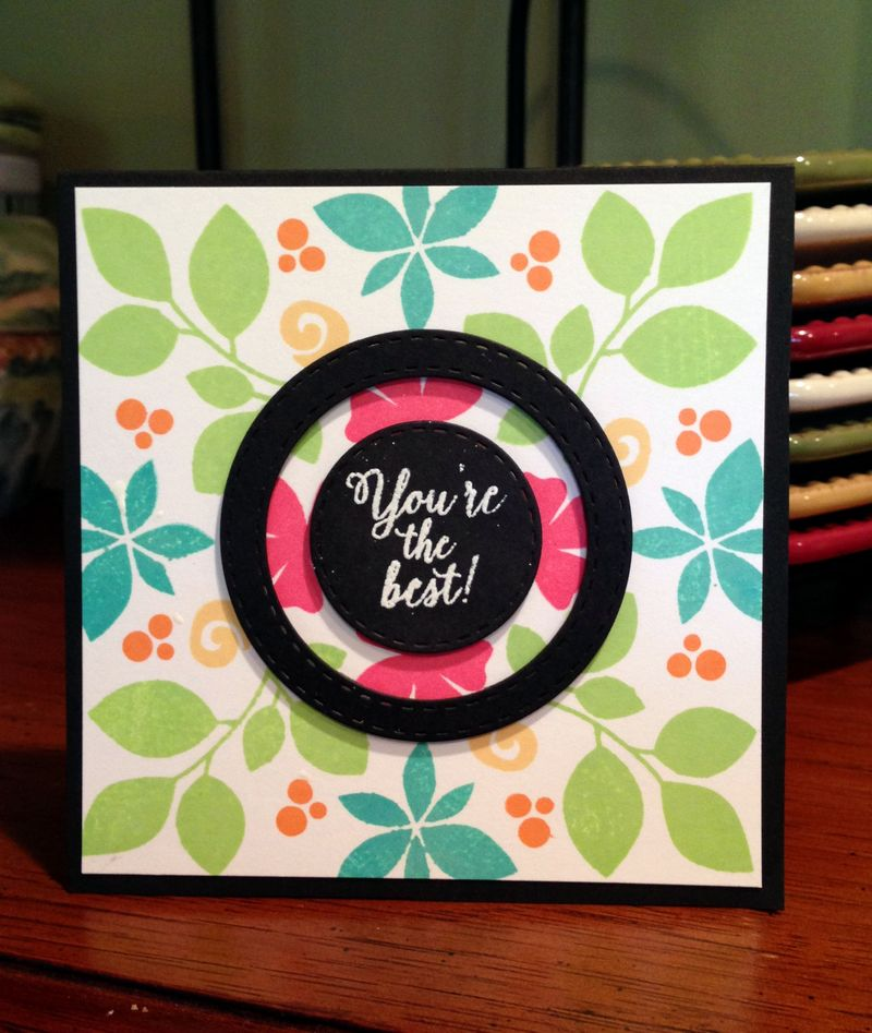 Colorful background card
