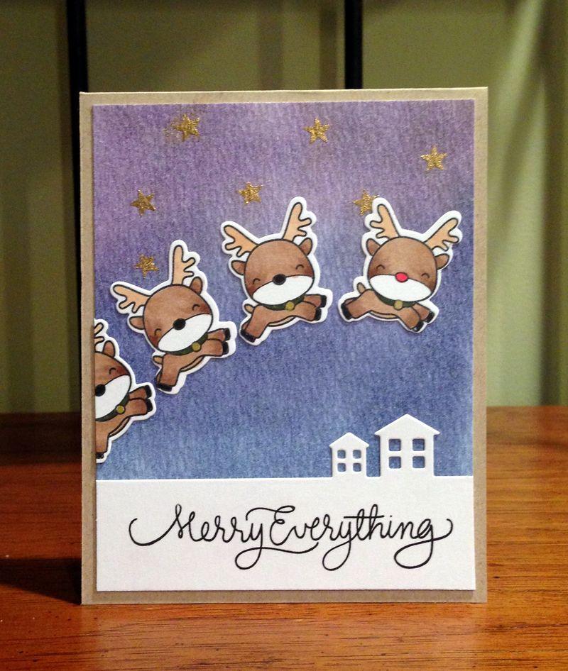 Reindeer games card