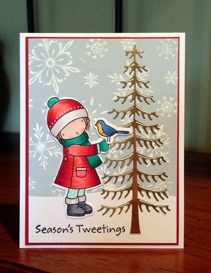 Seasons Tweetings card