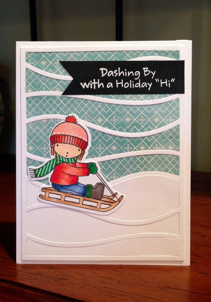 Dashing by card 2