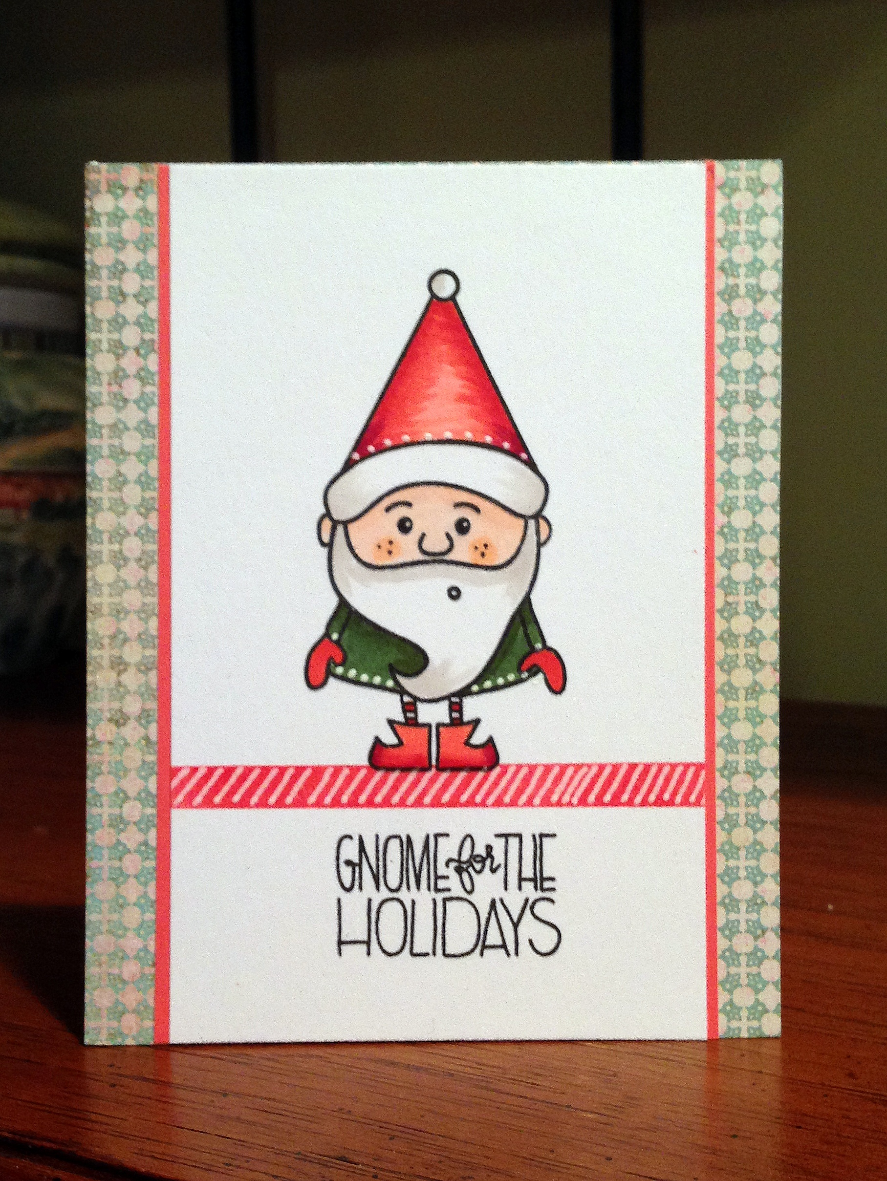 This Little Card of Mine: Gnome for the holidays