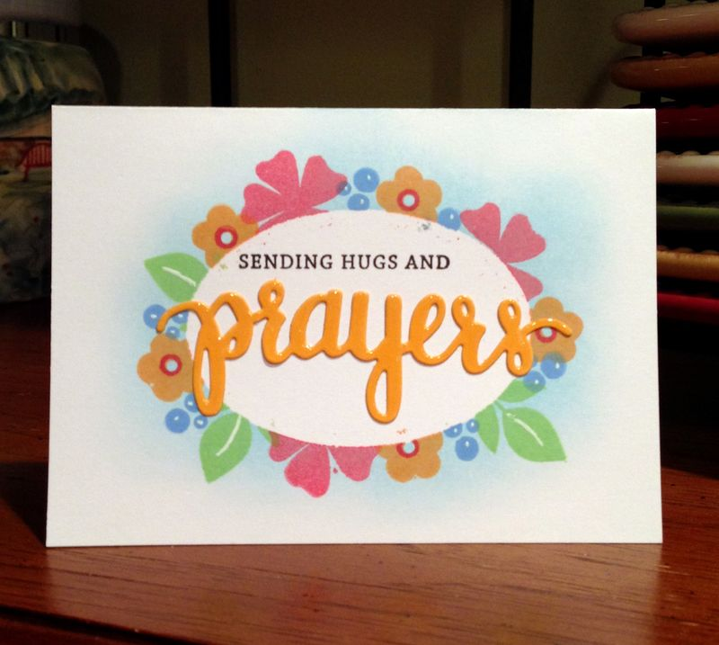 Prayers card drive card