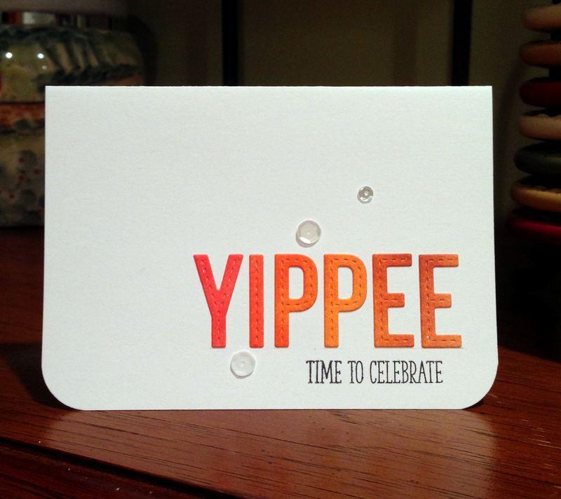 Yippee card