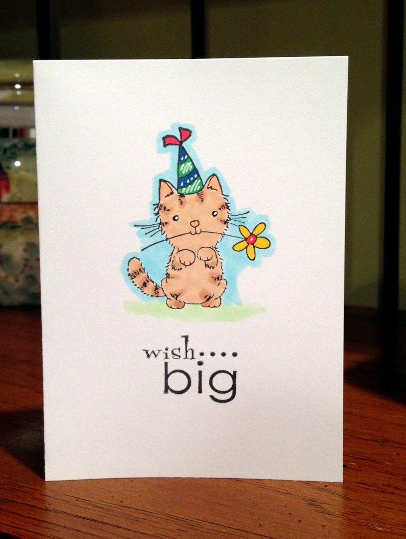 Wish big card