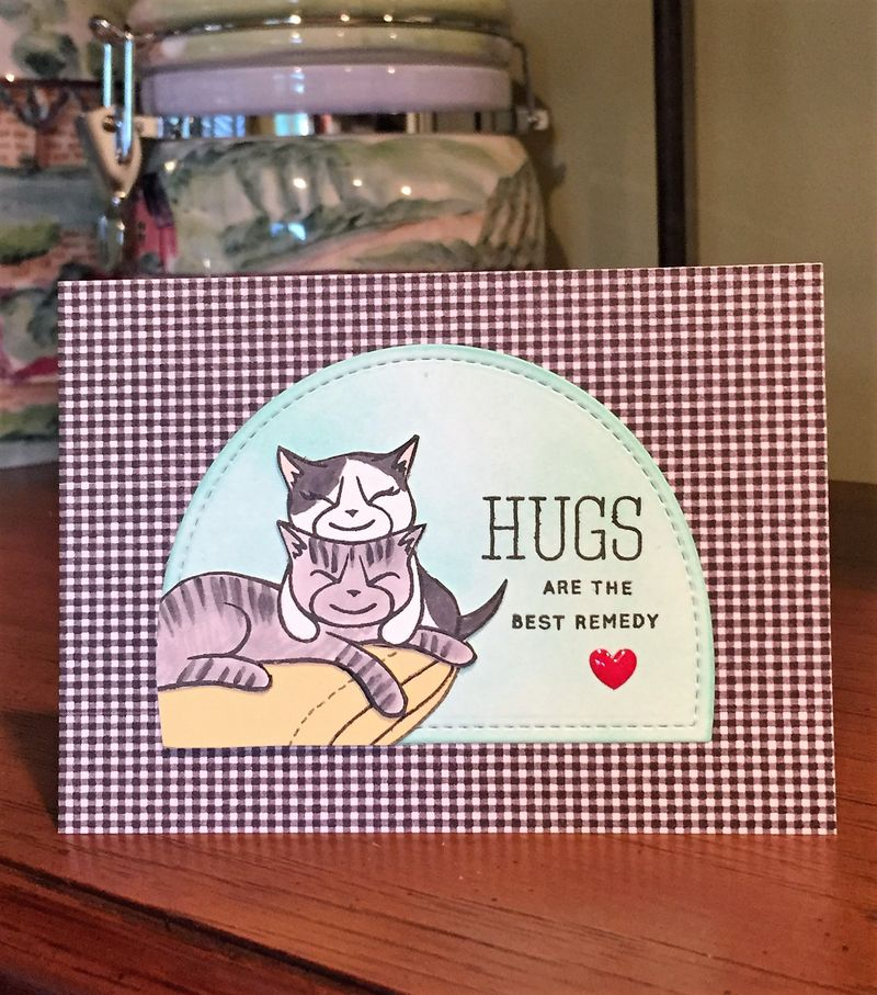 Hugs best remedy card