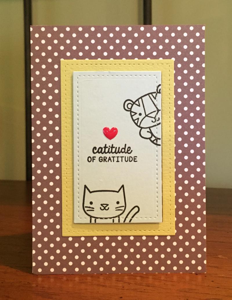 Catitude card 1