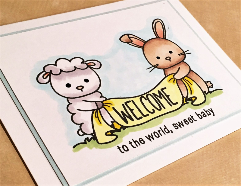 Graham welcome card close up