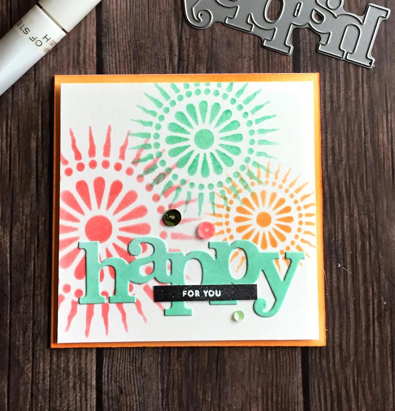 Happy card for Sami