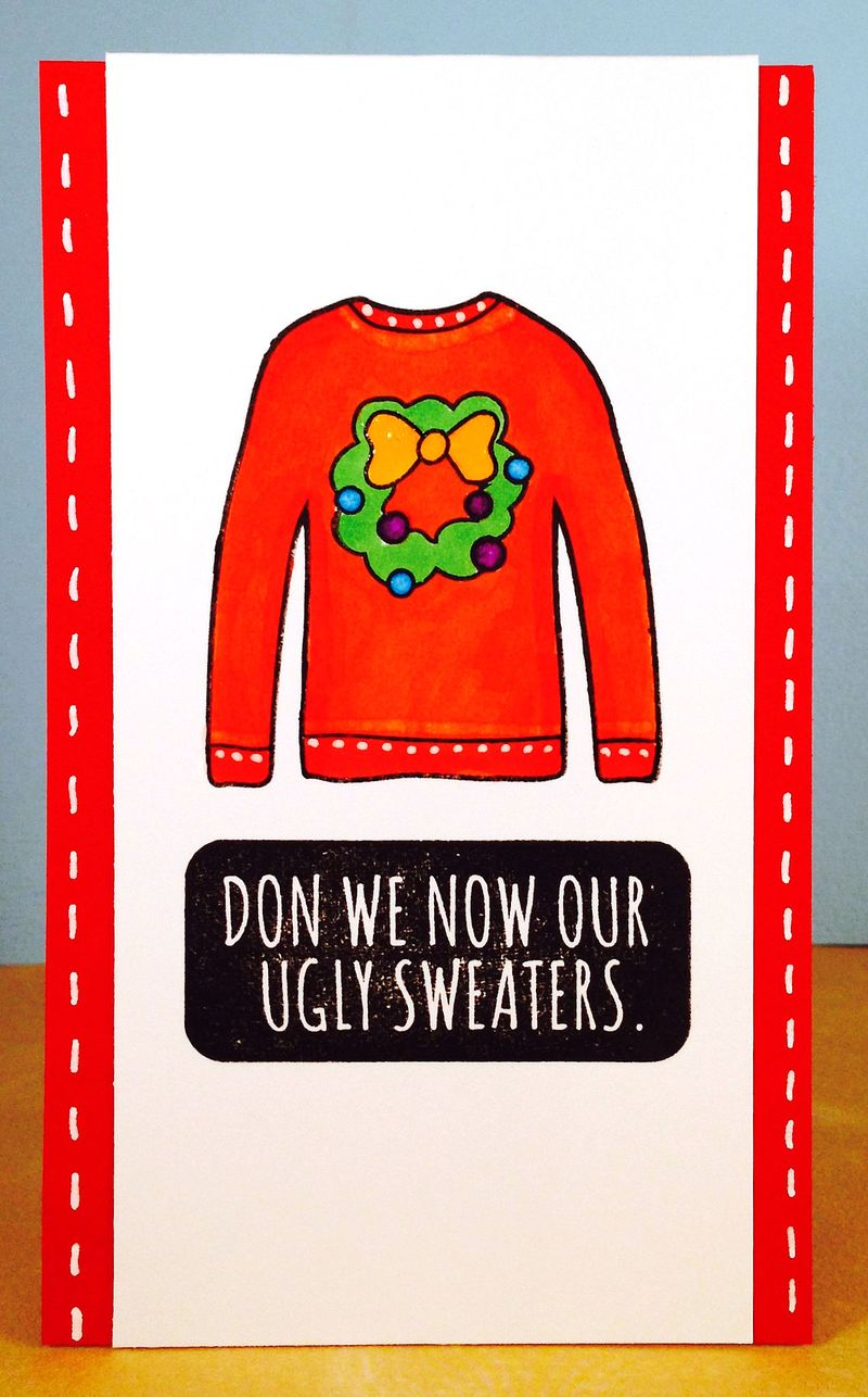Sweater card 1