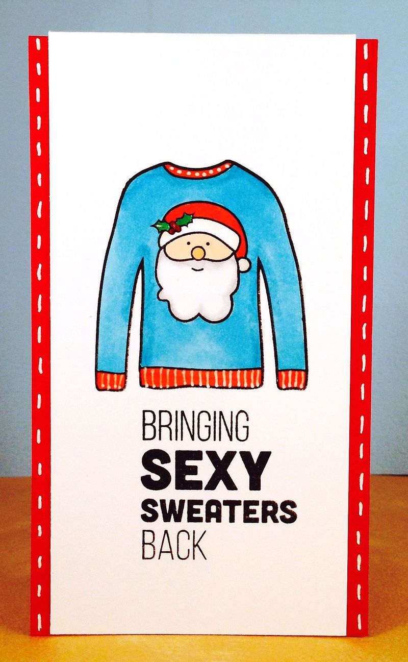Sweater card 4
