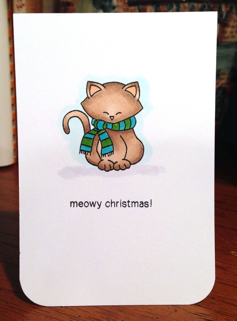 Last Christmas card 2