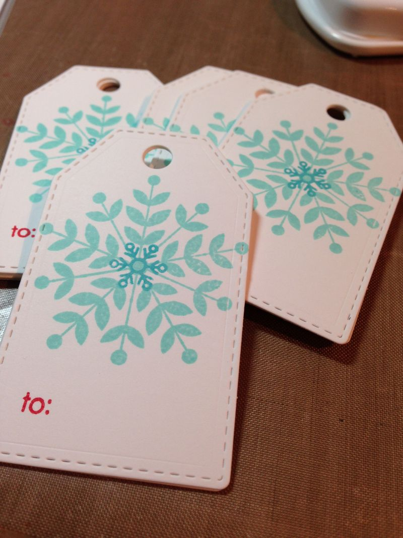 Last Christmas cards 9 tags