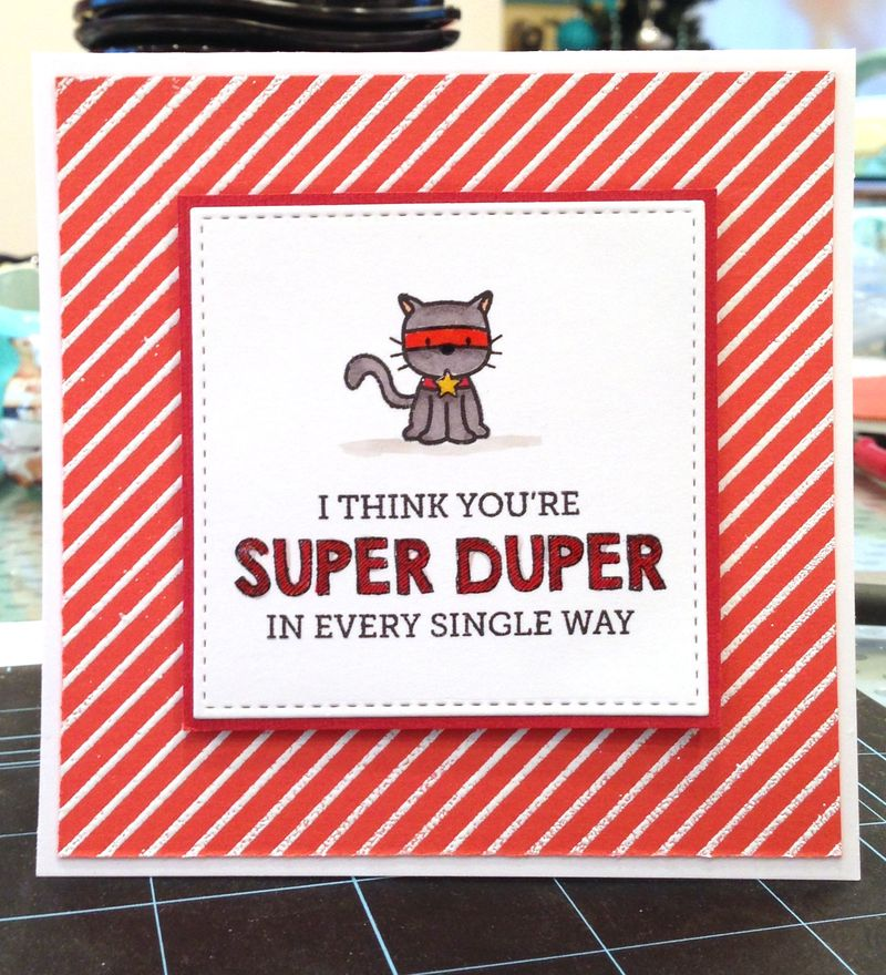 Super Duper card for Colin