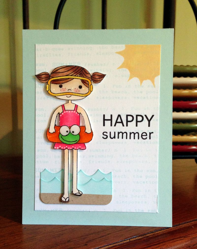 Happy Summer card