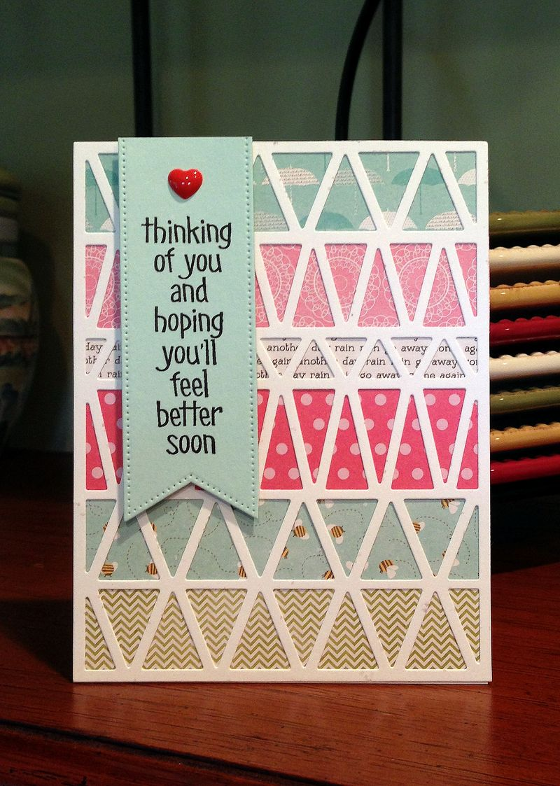 Feel better full triangle card
