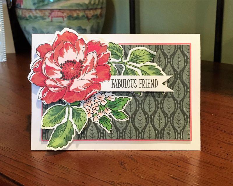 Fabulous friend card