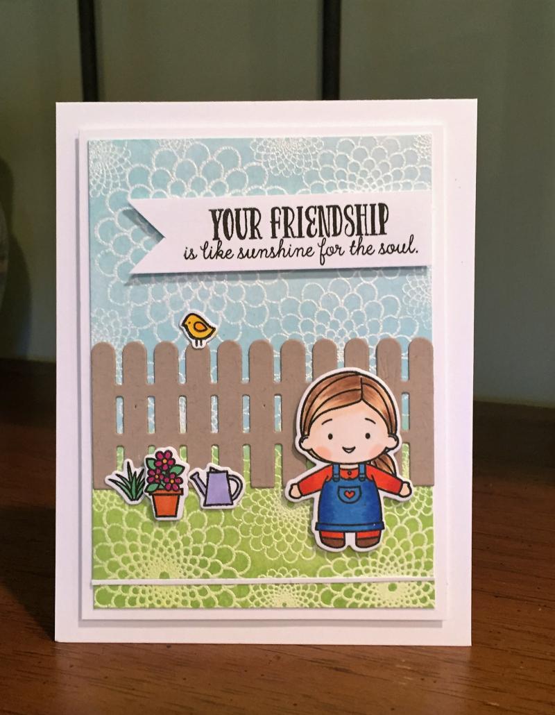 Garden buddies card