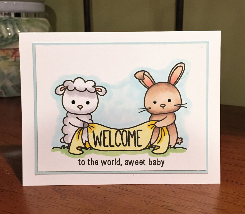 Graham welcome card