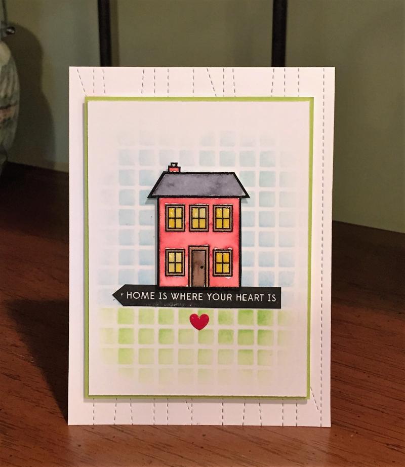 McGuire house card