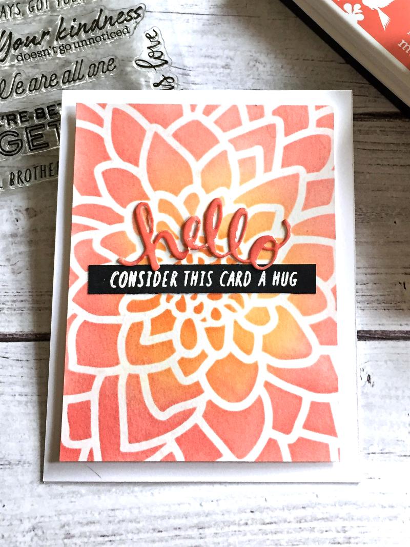 Consider this card a hug card
