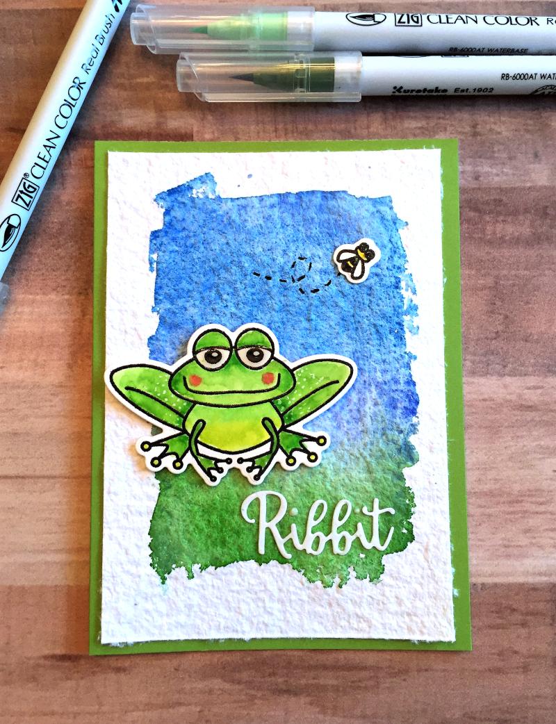 TT frog card A 1