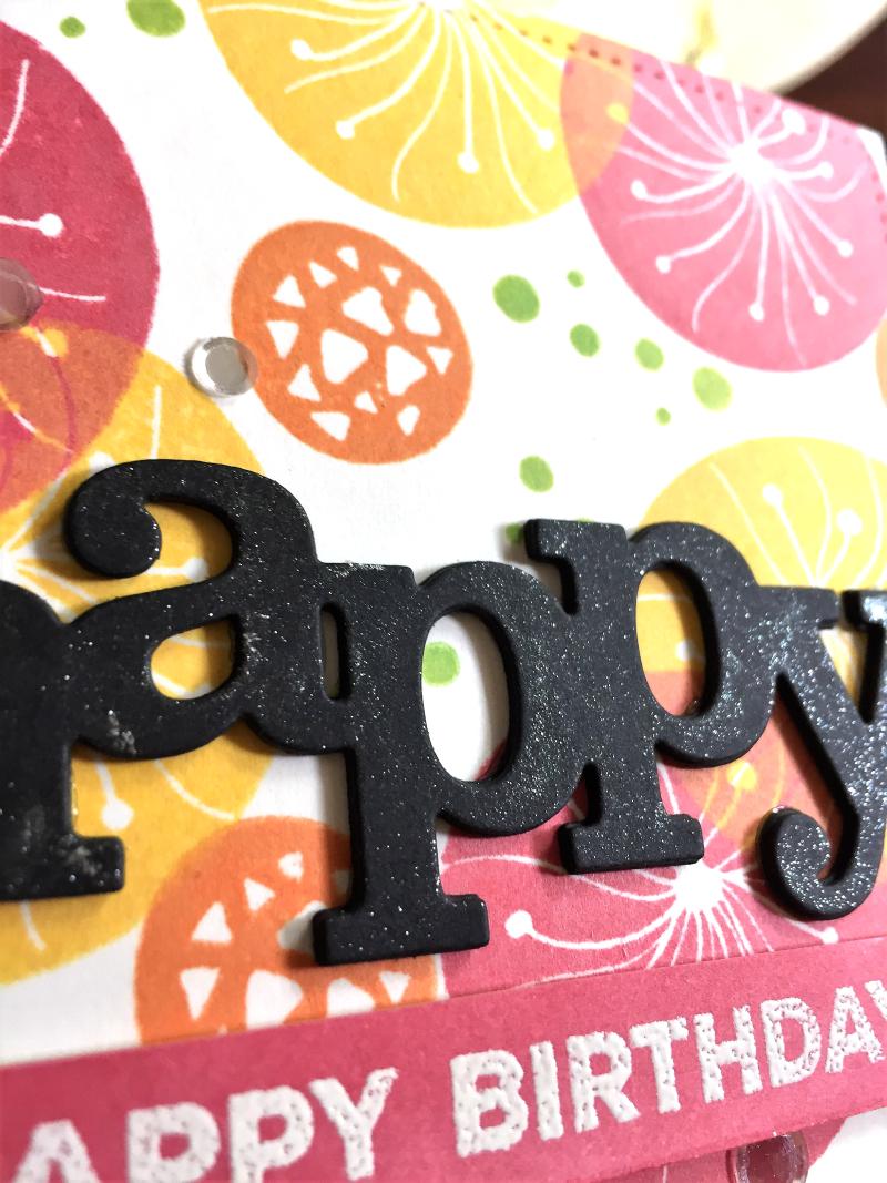Layered background birthday card 2