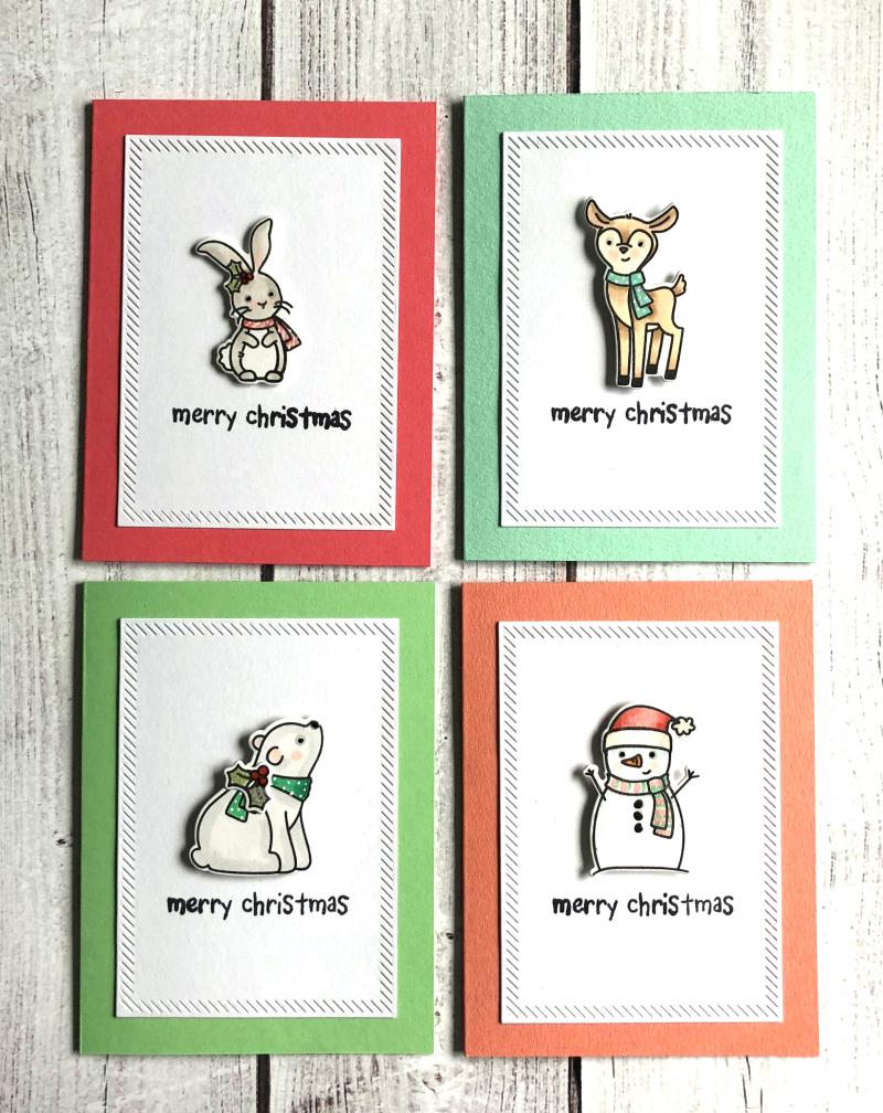 July Xmas all cards