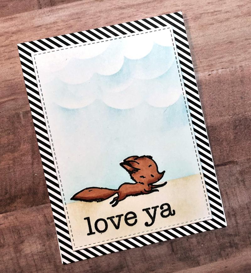 PFS Love ya fox card