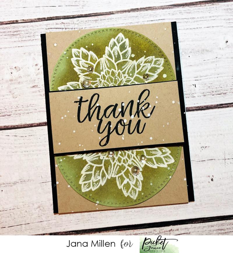 PFS Succulent Floral card1