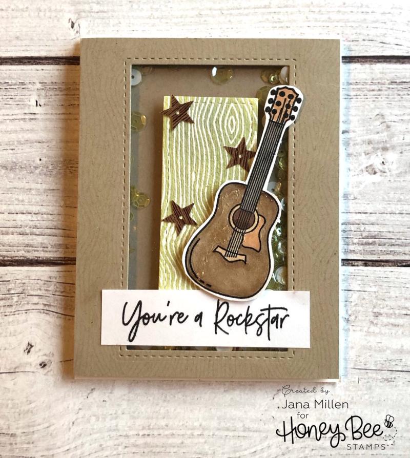 HBS guitar card