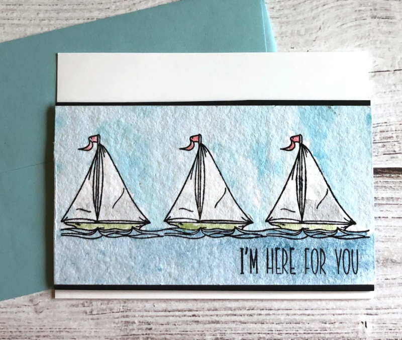 SSS Sailboats card